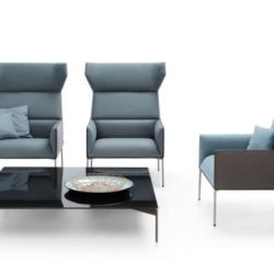 Office and Home Solutions - Profim Armchair for Office Waiting Area