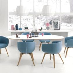 Office and Home Solutions - Profim Nu Sitting Area Table With Chairs