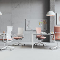 Office and Home Solutions Profim Violle Desk and Chair