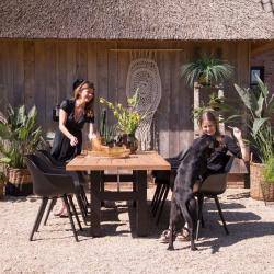 Garden Furniture Yasmani Table And Sophie Chairs From Hartman
