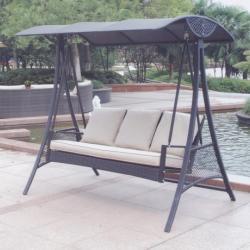 Aletraris Furniture - Calypso Metalic Swing Outdoor Garden