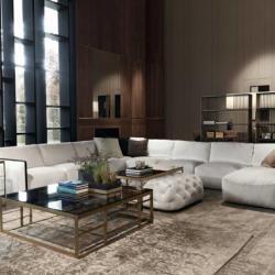 Home and Deco Furniture - Live In Style White Corner Sofa